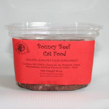 organic beef cat food